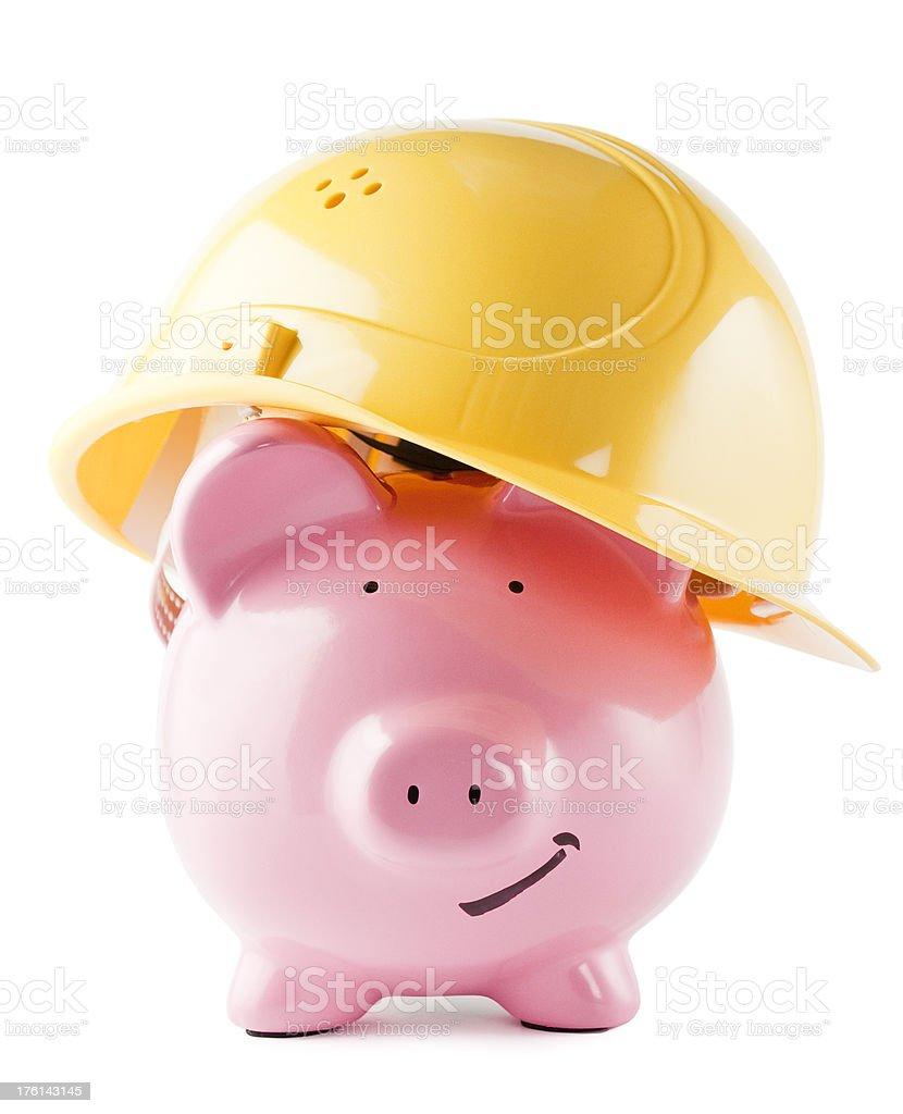 Danger Pig royalty-free stock photo