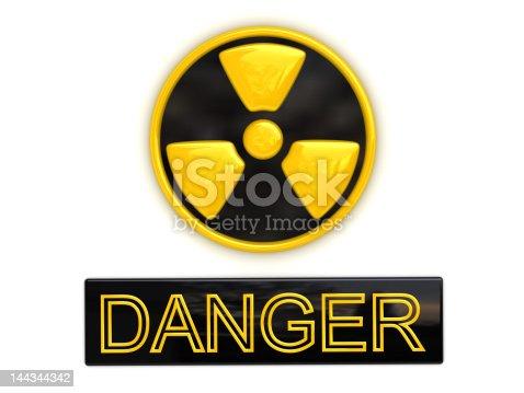 istock Danger radioactive sign 144344342