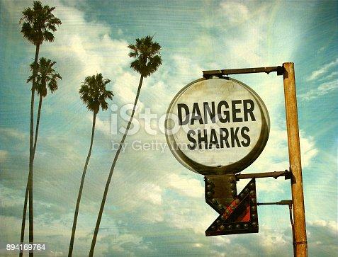 istock danger sharks sign 894169764