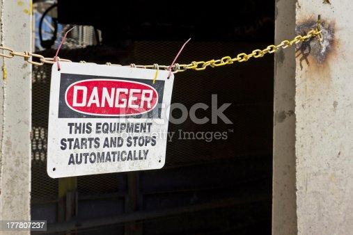 istock Danger Sign 177807237