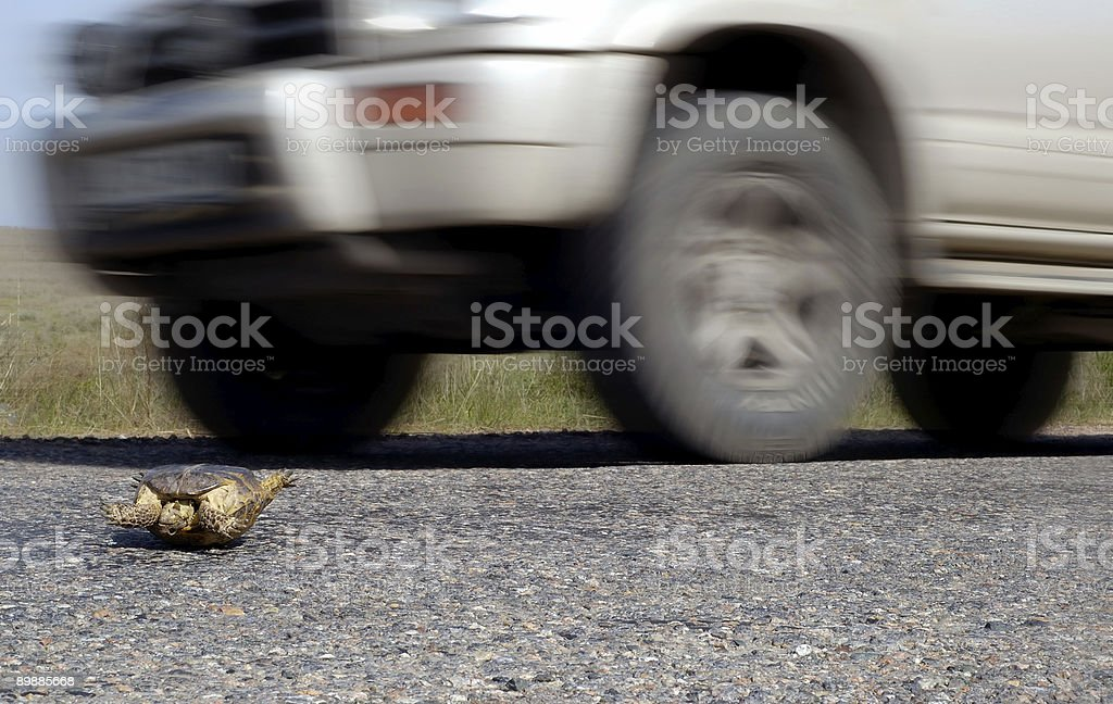 Danger traffic and Highway Code royalty-free stock photo