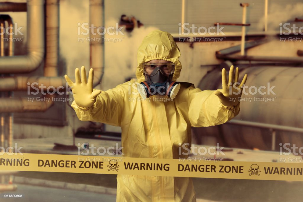 Danger zone - foto stock