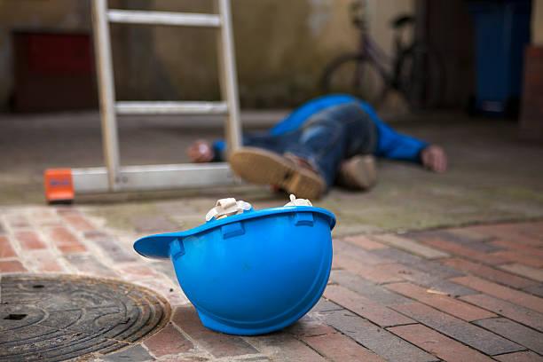 accident dangereux au cours de travail - Photo