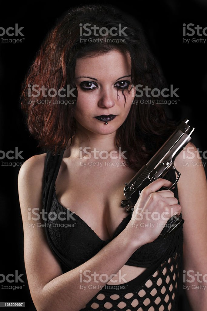 Dangerous and sexy royalty-free stock photo