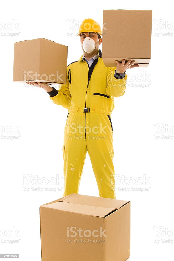 dangerous box royalty-free stock photo