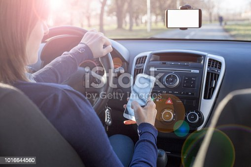 istock Dangerous driver 1016644560