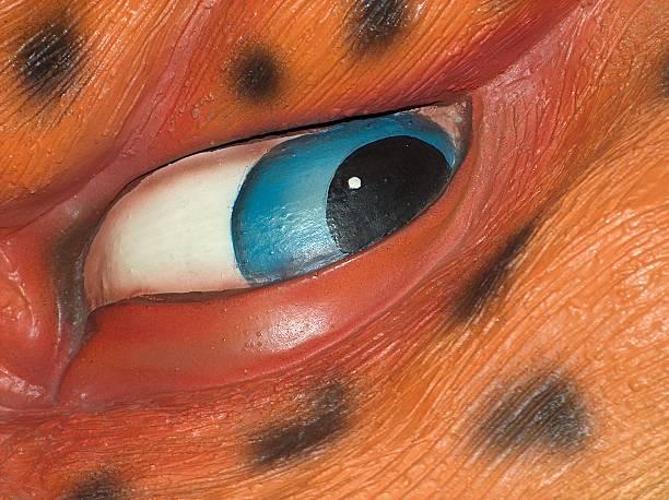 Dangerous eye stock photo