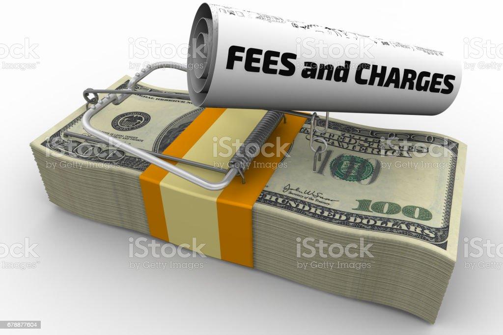 Tehlikeli ücretleri ve giderleri yaygın royalty-free stock photo