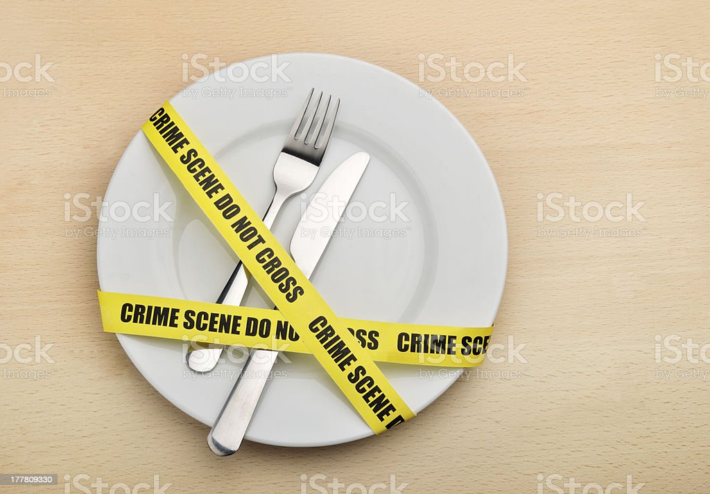 Dangerous food royalty-free stock photo