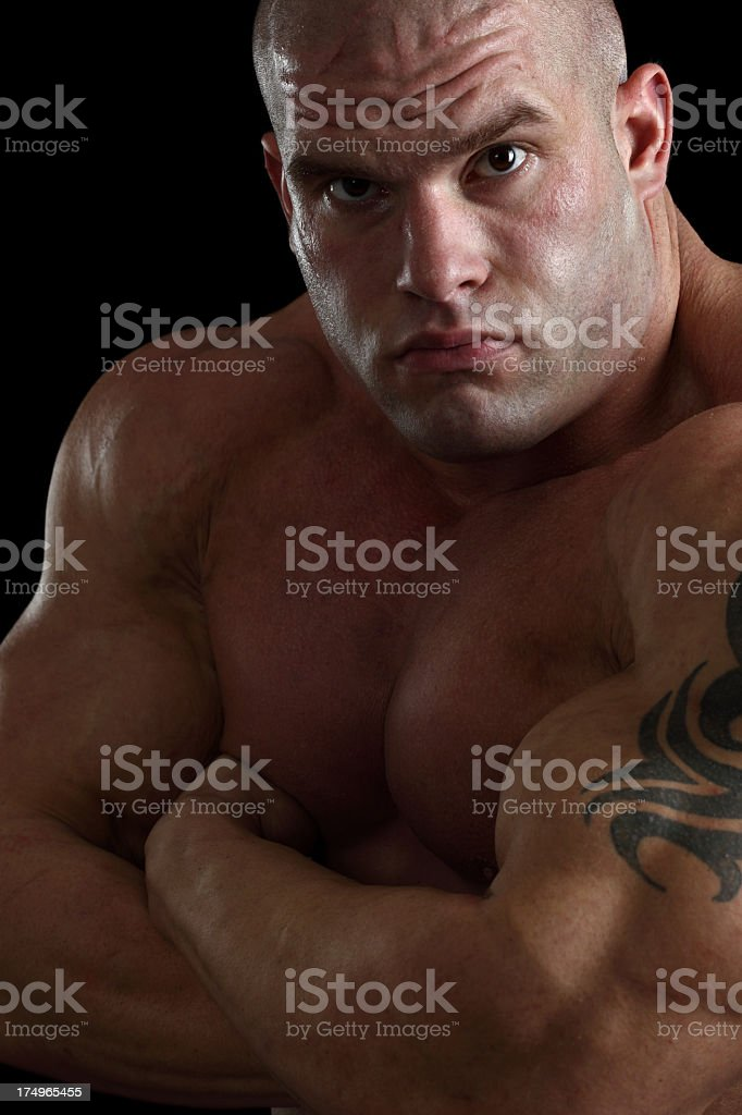 Dangerous guy royalty-free stock photo
