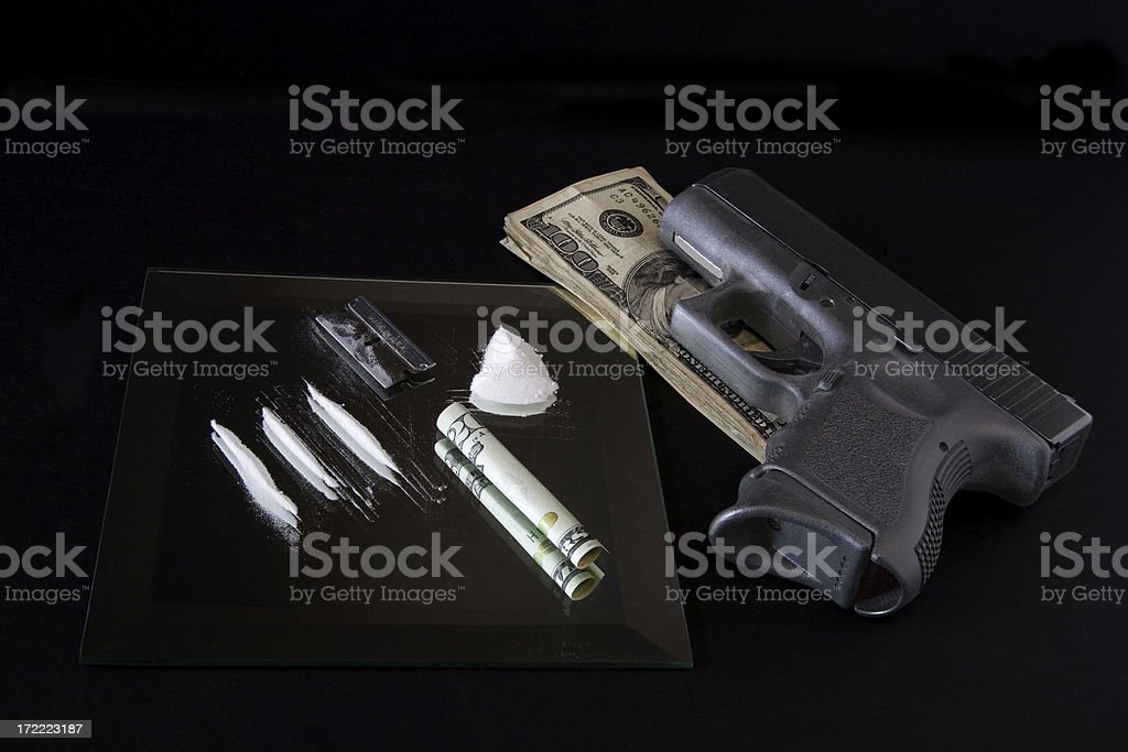 Dangerous habit royalty-free stock photo