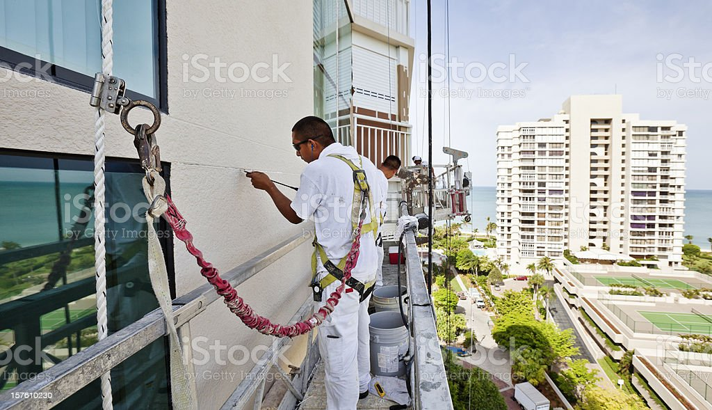 Dangerous Jobs stock photo