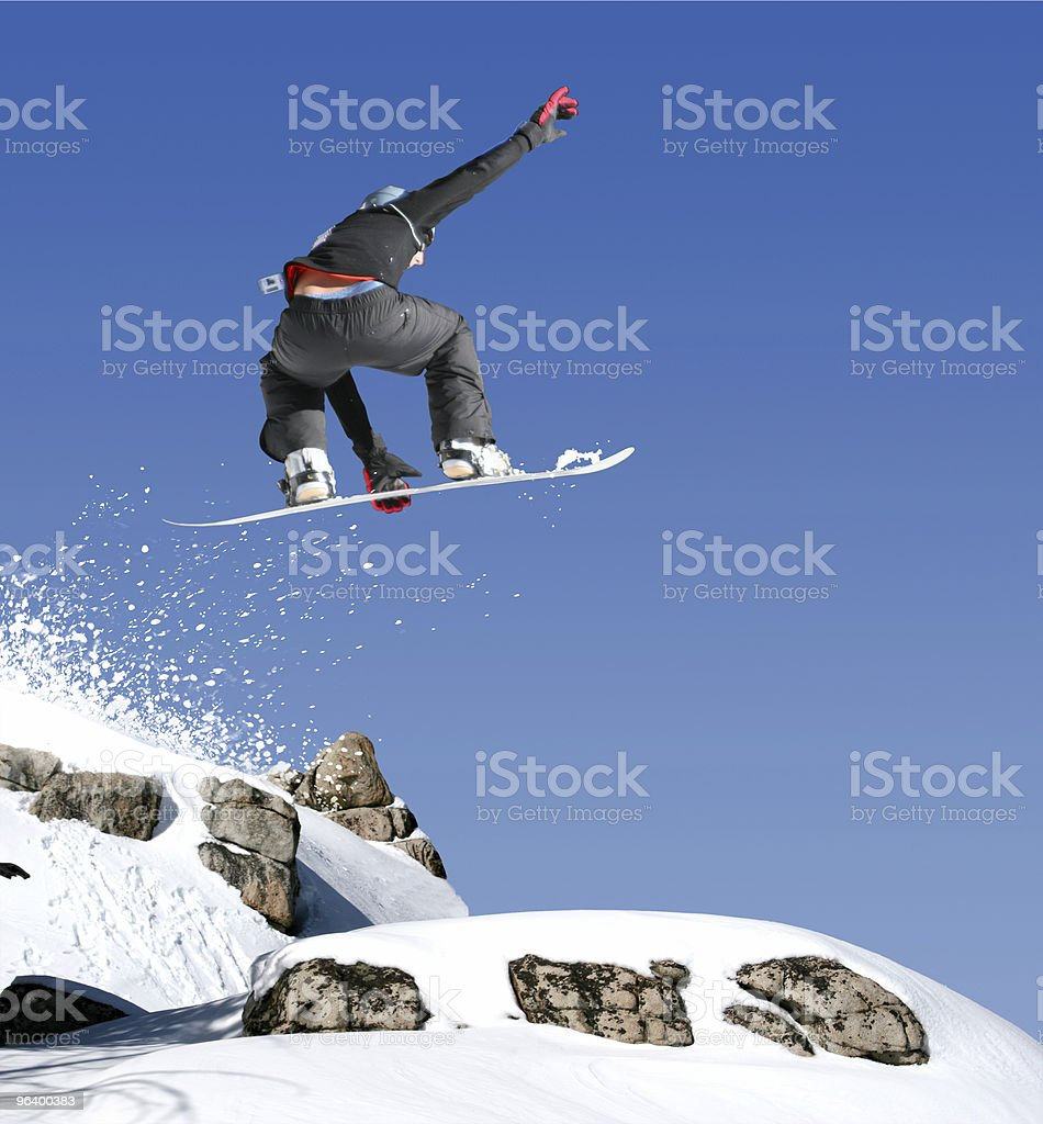 Dangerous jump - Royalty-free Adolescence Stock Photo