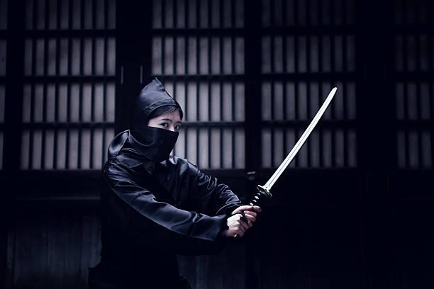 peligroso ninja - ninja fotografías e imágenes de stock