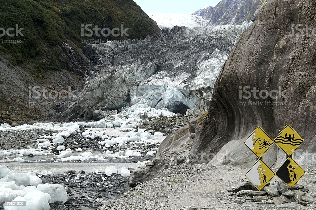 Dangerous place royalty-free stock photo