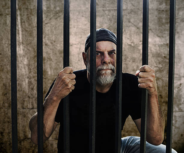 Image result for old man in prison