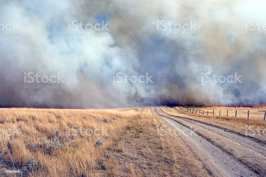 dangerous road stock photo