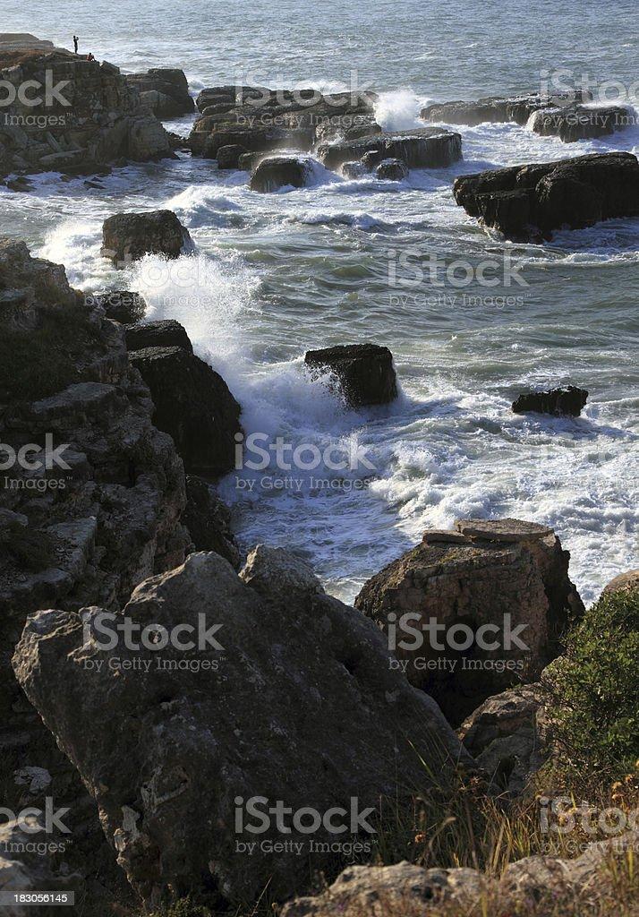 Dangerous Rocks stock photo