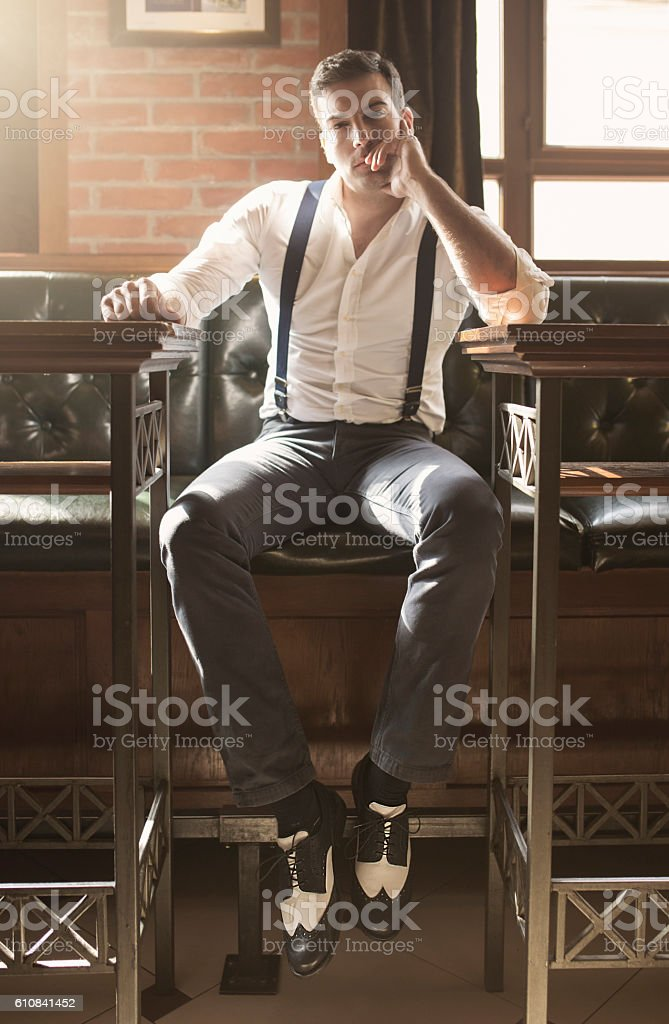 Dangerous seducer stock photo
