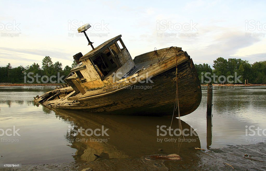 Dangerous Shallows royalty-free stock photo
