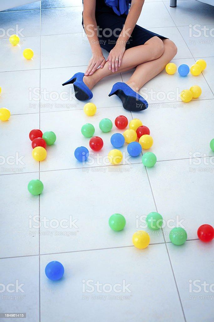 Dangerous small balls royalty-free stock photo