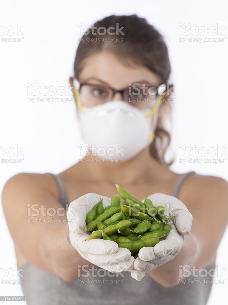 dangerous soybeans royalty-free stock photo