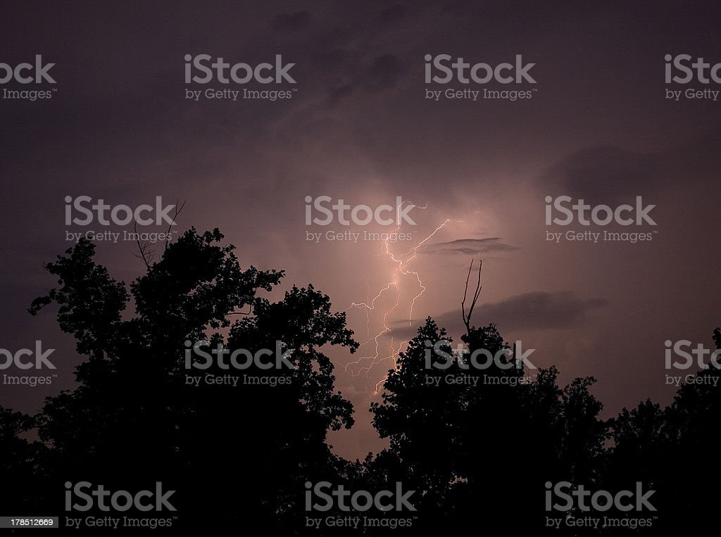 Dangerous storm royalty-free stock photo