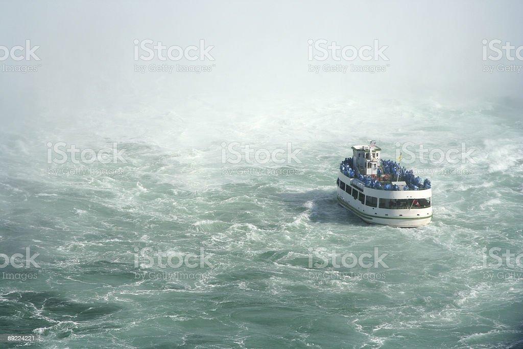 Dangerous waters stock photo