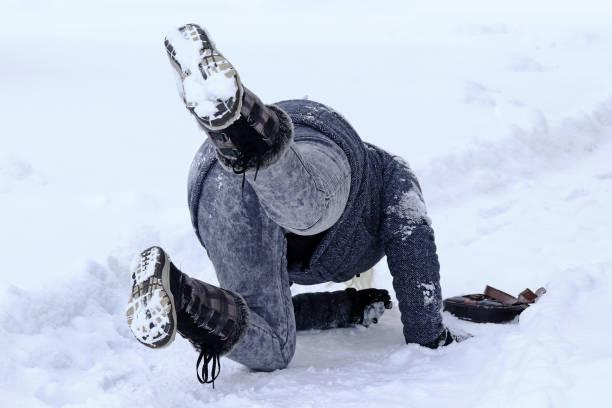 Dangerously slippery roads and sidewalks in winter a woman slips on a picture id1179017537?b=1&k=6&m=1179017537&s=612x612&w=0&h=lsoakaky4xbytaslad ki hc4zjwxmhrykdakxdtxxw=