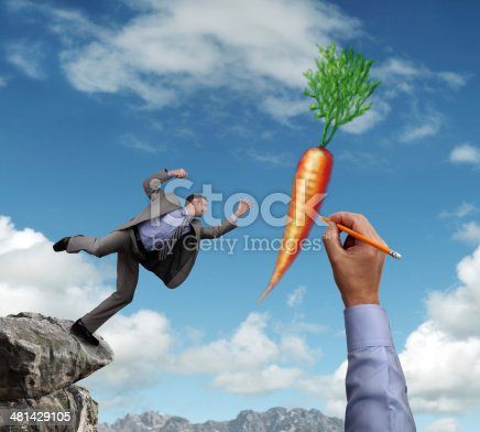istock Dangling a carrot 481429105