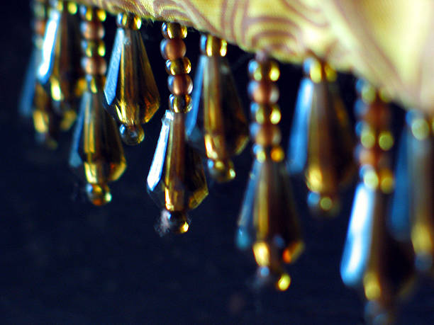 Dangling Beads stock photo