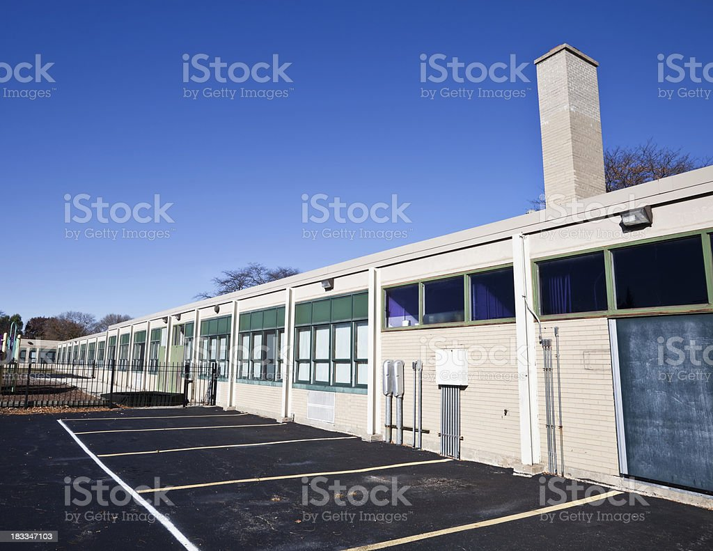 Daniel C. Beard Public School in Norwood Park, Chicago royalty-free stock photo