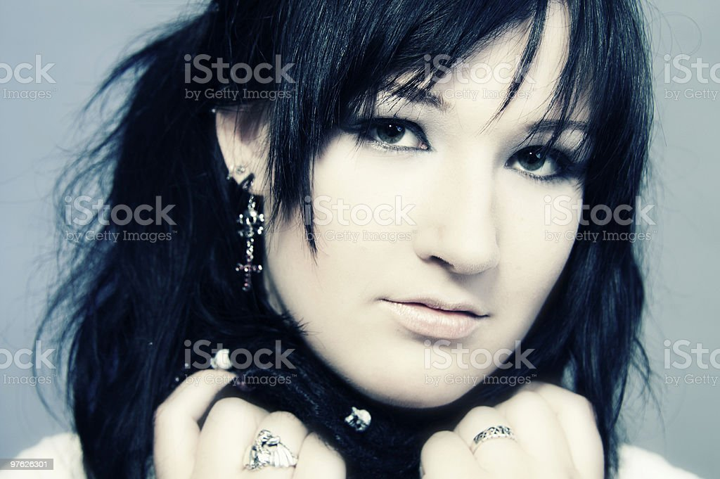 Danielle Goth #4 royaltyfri bildbanksbilder