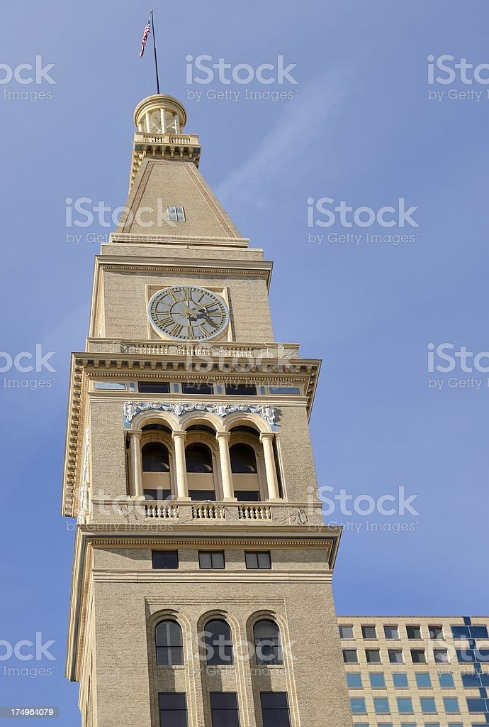 Daniels and Fisher Clock Tower, Denver royalty-free stock photo