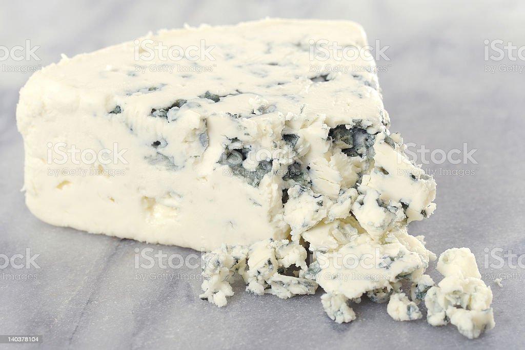 Danish Blue Cheese stock photo