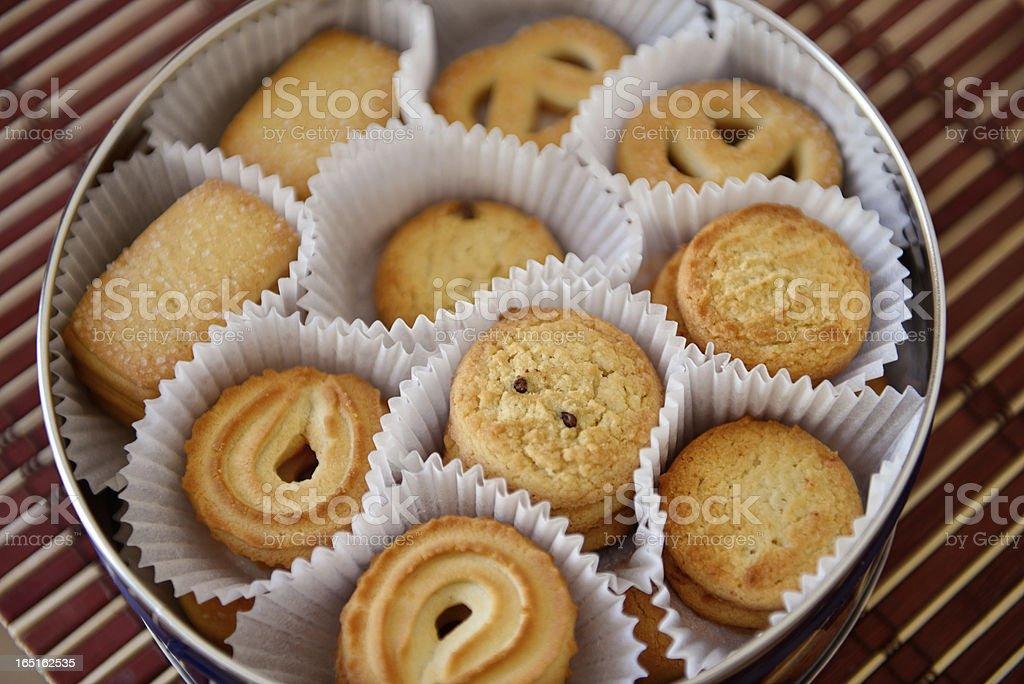 Biscoitos de pasta de dinamarquês - foto de acervo