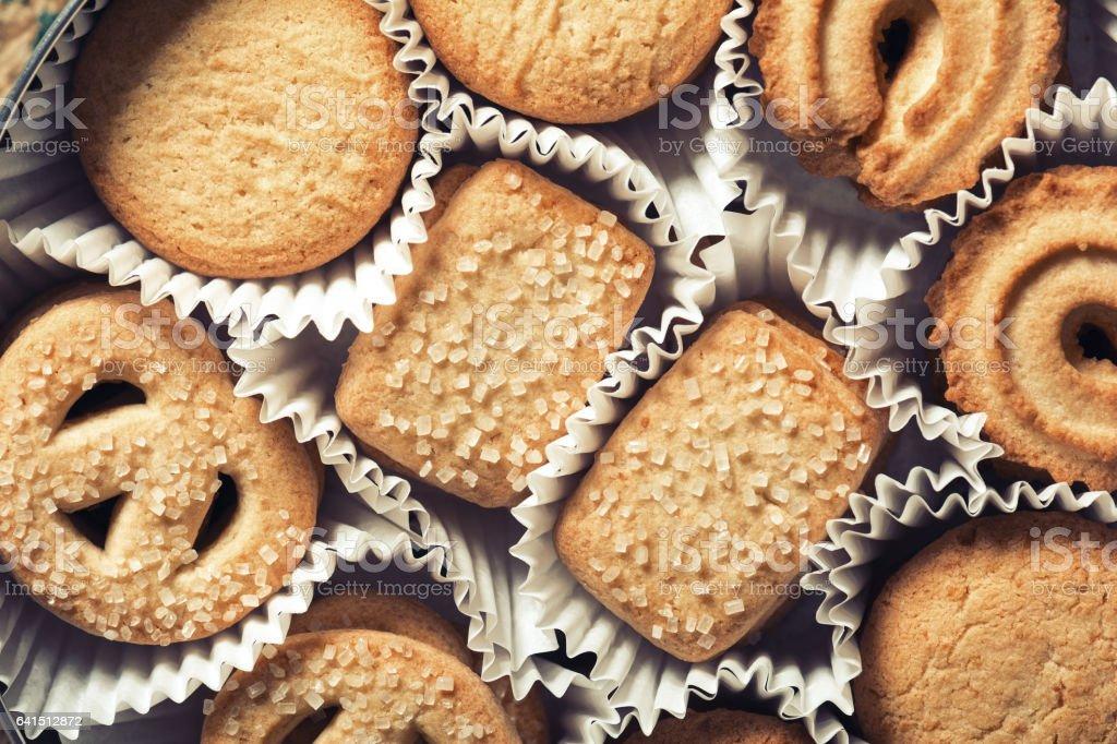 Dänische butter cookies – Foto