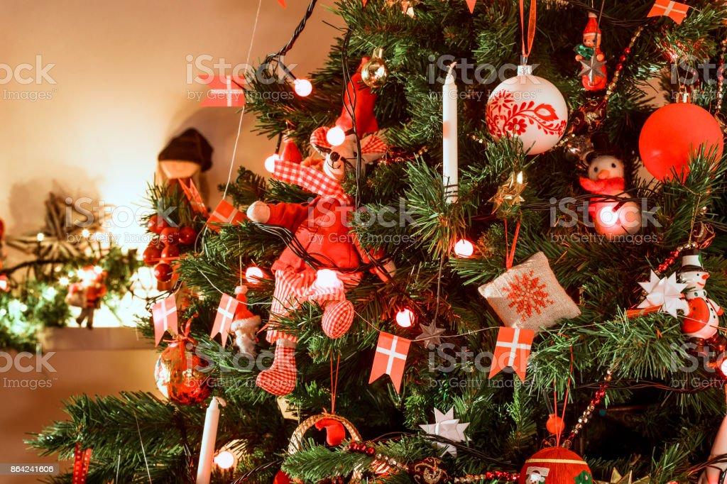 Danish Christmas Decoration royalty-free stock photo