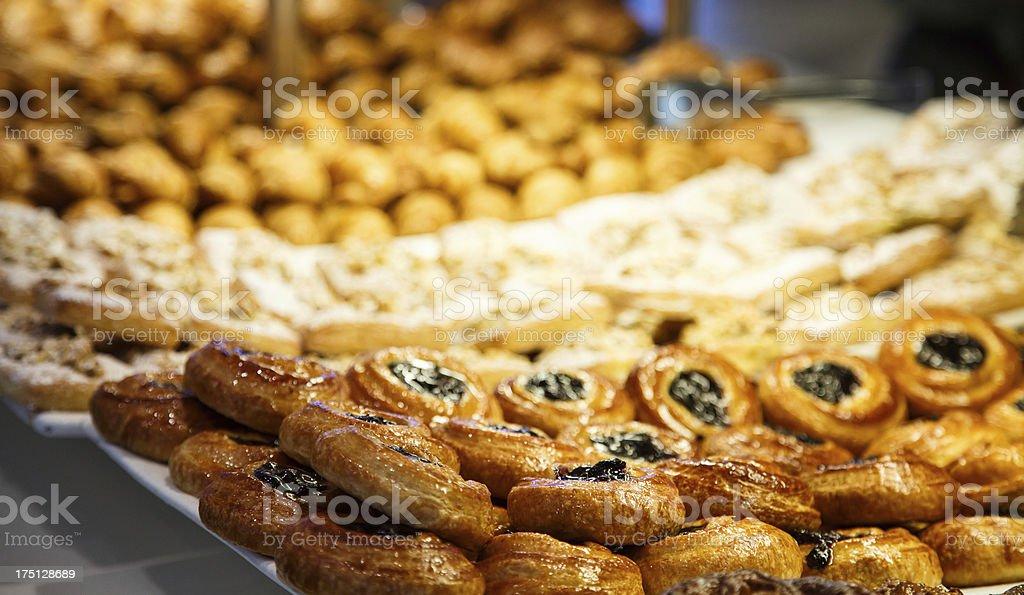 Danish in Bakery royalty-free stock photo