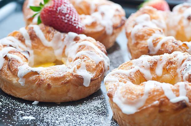 Danish Pastries bildbanksfoto