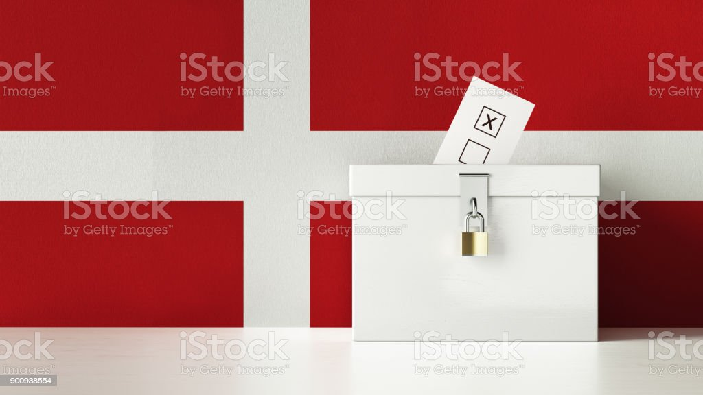 Danish Presidential and Legislative Elections Concept stock photo