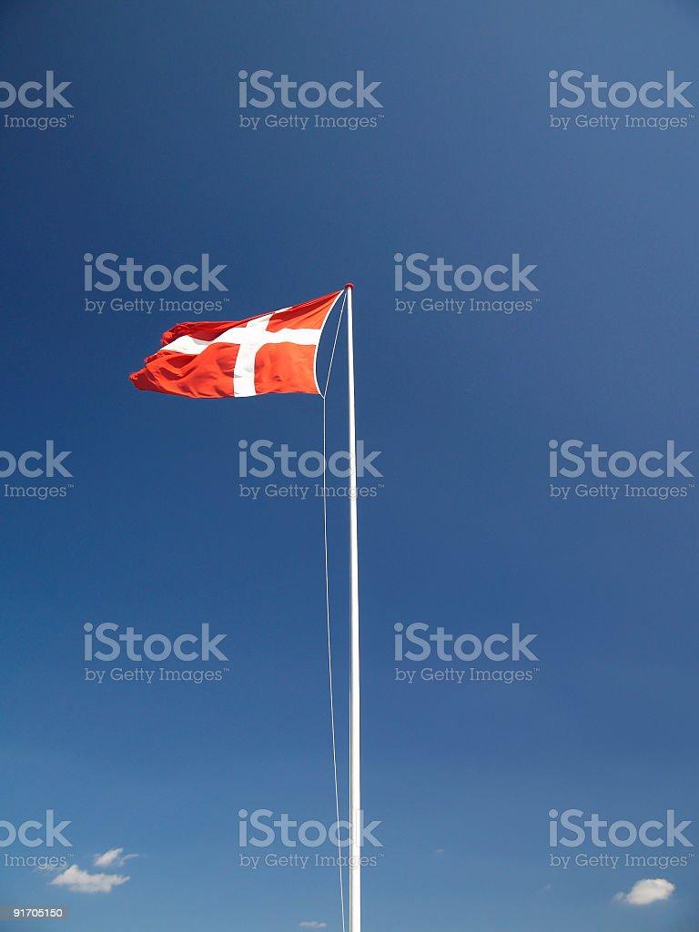Dannebrog royalty-free stock photo