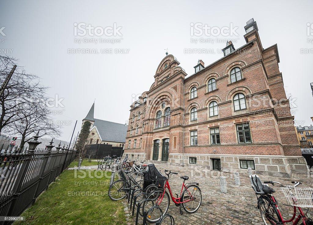 Dannerhuset, Copenhagen, Denmark stock photo
