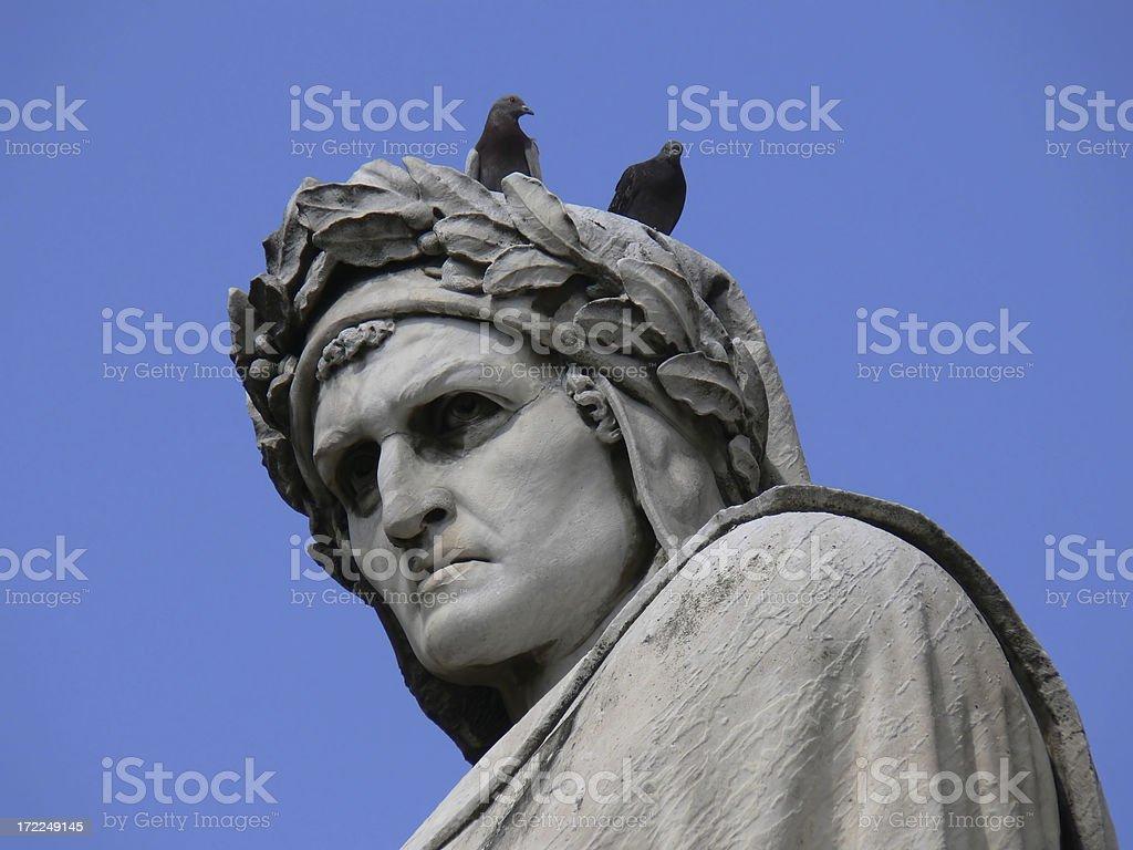 Dante Alighieri stock photo
