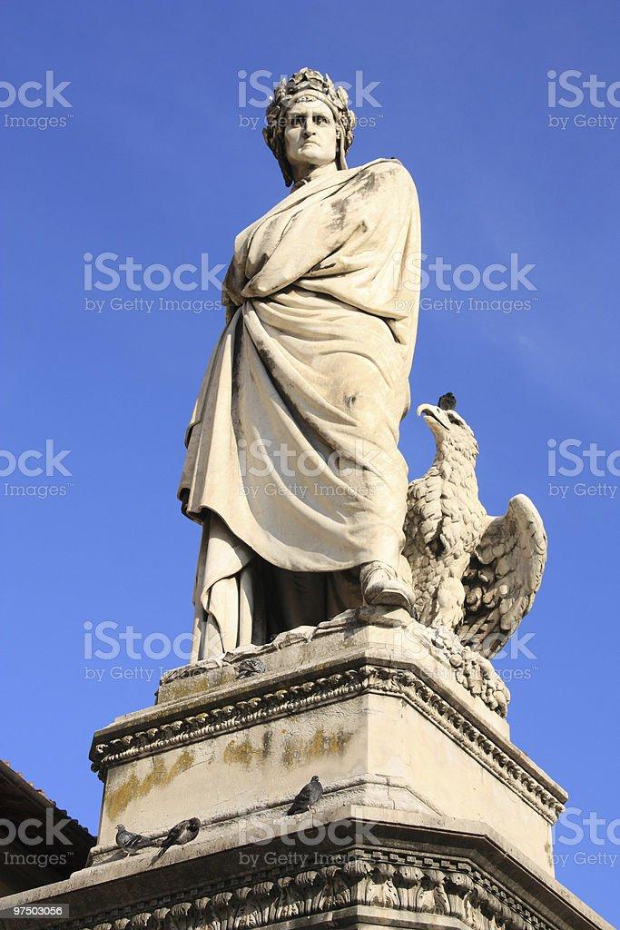 Dante Alighieri royalty-free stock photo