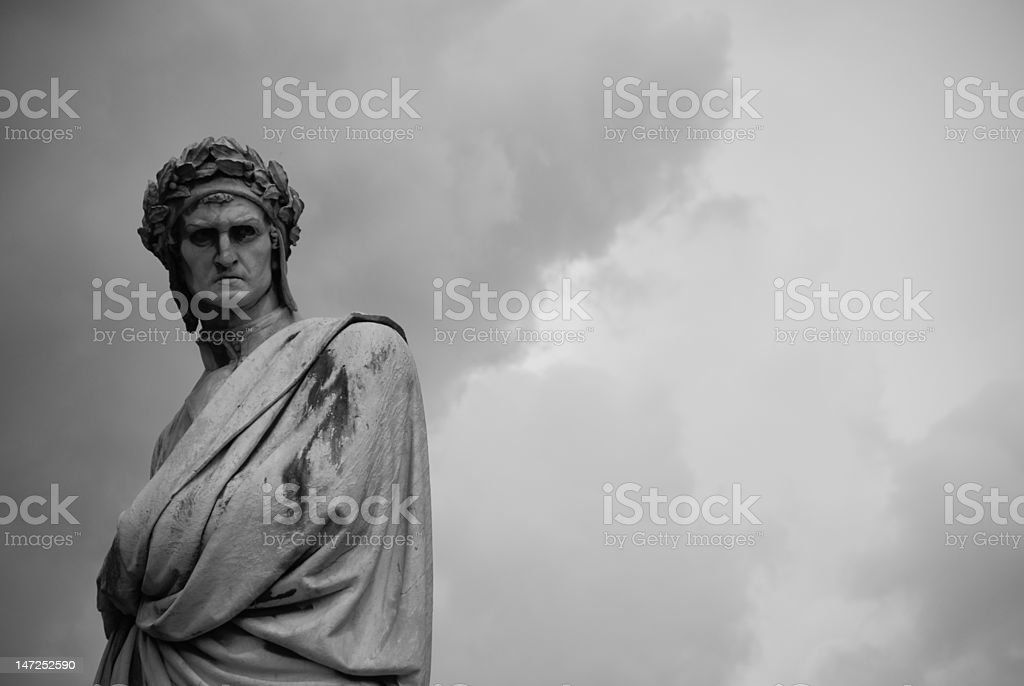 Dante stock photo