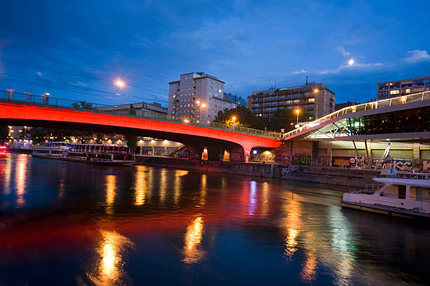donaukanal - yt stock pictures, royalty-free photos & images