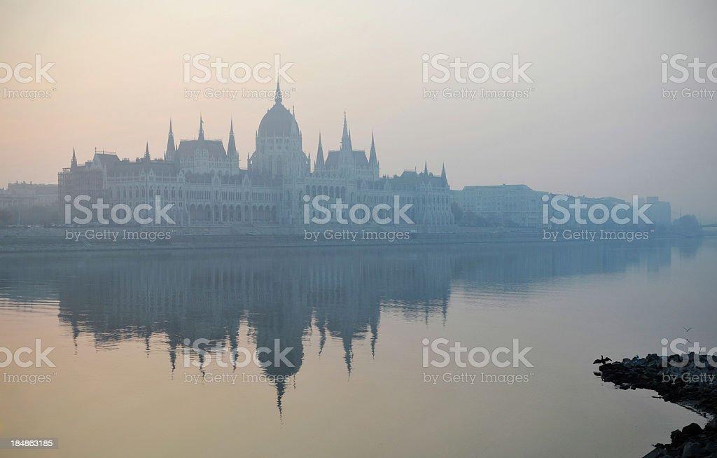 Danube Dawn royalty-free stock photo