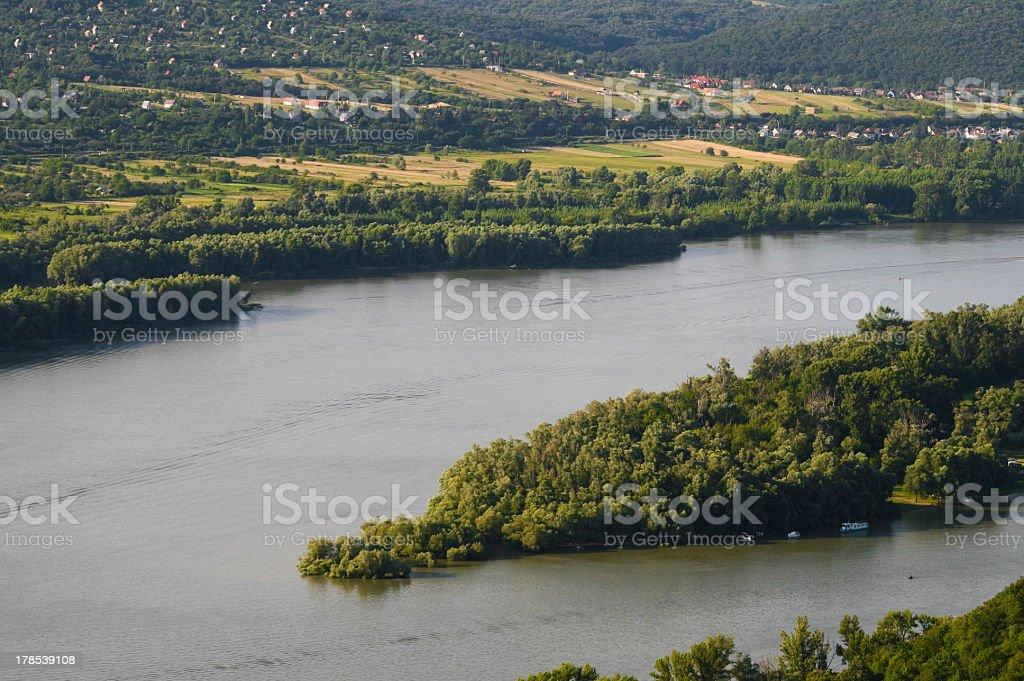 Danube River, Hungary, royalty-free stock photo