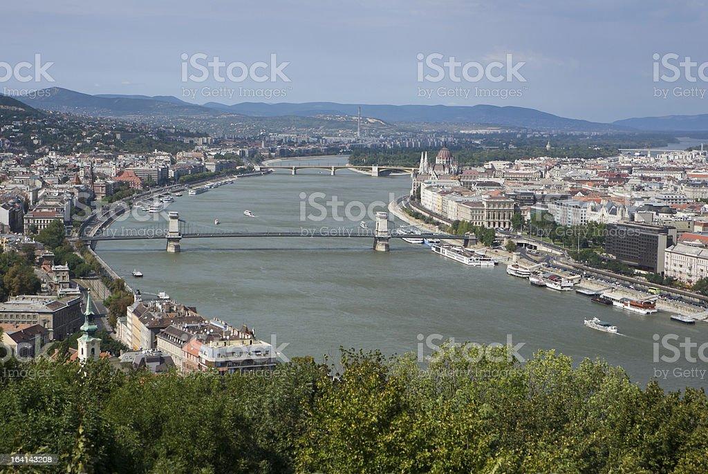 Danube river royalty-free stock photo